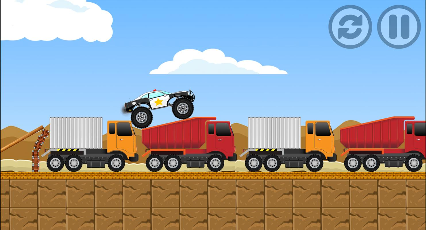 Monster truck challenge pc screenshot.