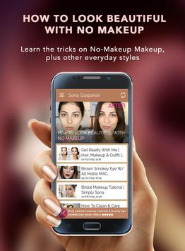 Makeup Tutorials Pro apk screenshot