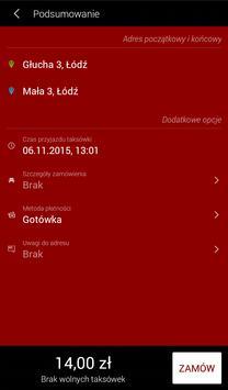 Go Taxi Łódź screenshot 2