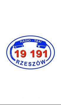 Radio Taxi 19 191 Rzeszów poster