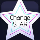 CHANGE STAR icon