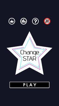 CHANGE STAR poster