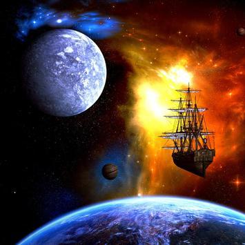 Space Galaxy Live Wallpapers apk screenshot