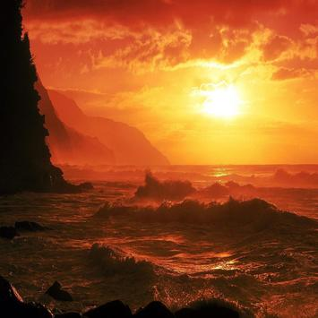 Sunset Sea Live Wallpapers apk screenshot