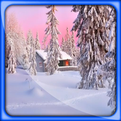 Winter Snow Live Wallpapers icon
