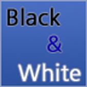 Black and White Game icon