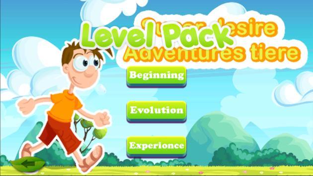 Super déseré Adventures tiere Games For Kids apk screenshot