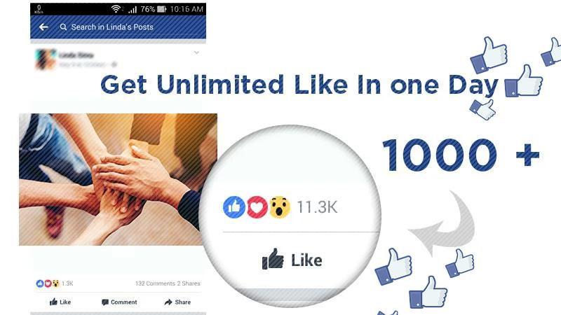 10000+ Likes : Auto FB Liker 2018 tips for Android - APK