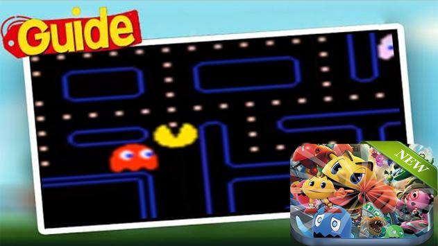 New Pac Man Tips poster