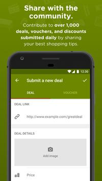 HotUKDeals - Vouchers Codes, Deals, Freebies, Sale apk screenshot