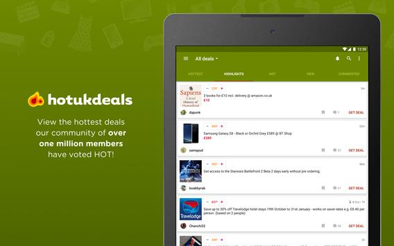 HotUKDeals - Vouchers Codes, Deals, Freebies, Sale screenshot 10