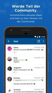 mydealz – Gutscheine, Schnäppchen, Angebote, Sale APK-Bildschirmaufnahme