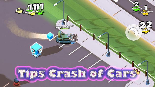Tips Crash of Cars apk screenshot