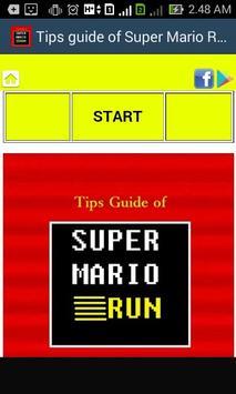 Tips Guide of Super Mario Run poster
