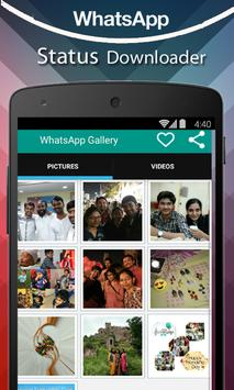 Latest Status Downloader For whatsapp poster