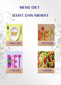 Tips dan menu Diet poster
