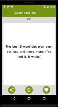 Weight Loss Tips screenshot 7