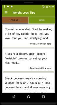 Weight Loss Tips screenshot 3
