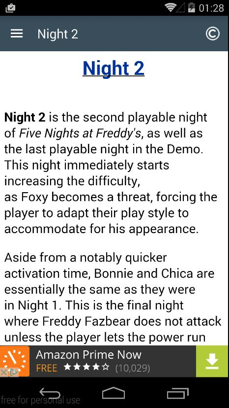 Guide For FNAF1 for Android - APK Download