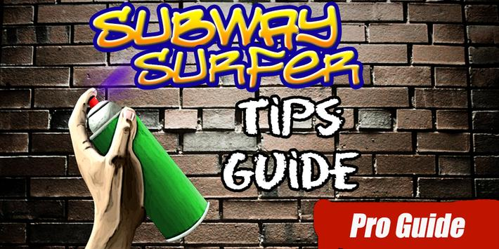 2017 Subway Surfer Tips Guide poster