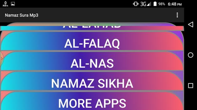 Namaz Surah Mp3 apk screenshot