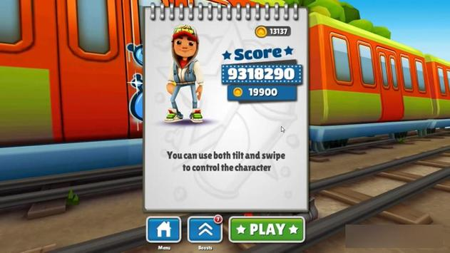 Unlimited Tips Subway Surfers poster