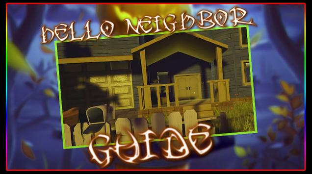 Tips guide For Hello Neighbor poster