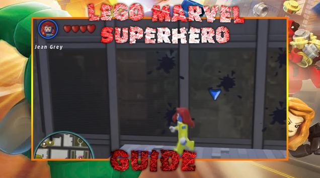 Guide LEGO Marvel Superhero poster