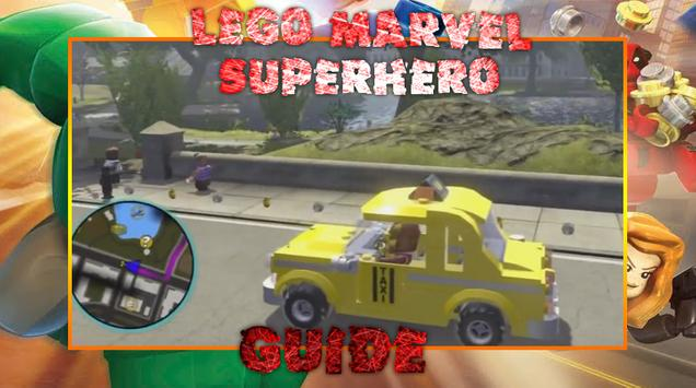 Guide LEGO Marvel Superhero screenshot 1