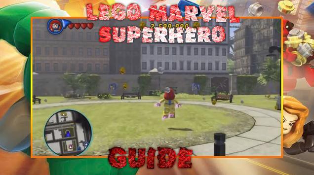 Guide LEGO Marvel Superhero screenshot 2