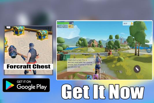 Free FortCraft Battle Royale Strategy screenshot 1