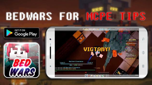 Bed Wars for Minecraft PE Tips apk screenshot