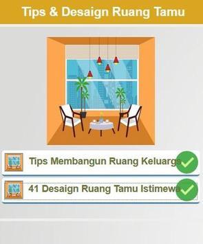 Tips & 41 Desaign Ruang keluarga poster