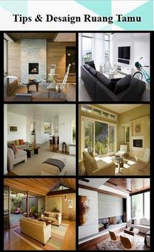 Tips & 41 Desaign Ruang keluarga screenshot 2