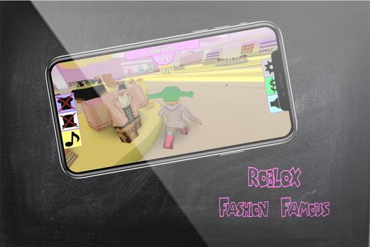 Tips of Roblox Fashion Frenzy Famous and Tricks screenshot 3