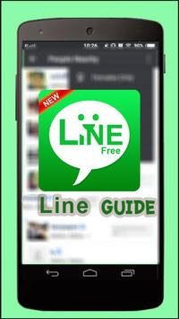 Tips For Line: Free calls & messages Guide poster