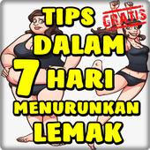 Tips 7 Hari Menurunkan Lemak Ampuh icon