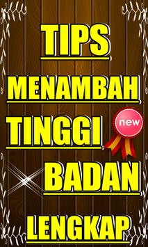 TIPS 'MENAMBAH TINGGI BADAN' AMPUH poster