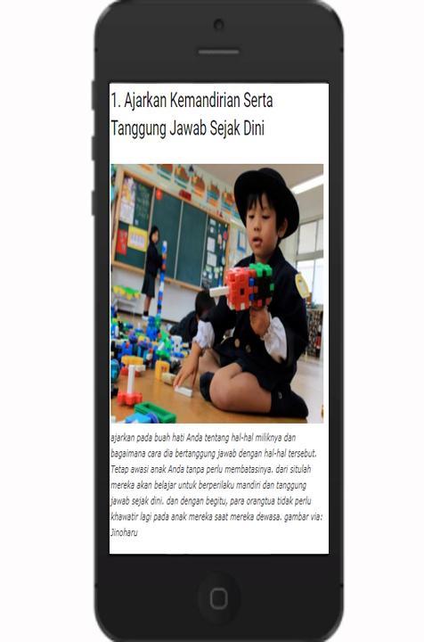 Tips Mendidik Anak poster