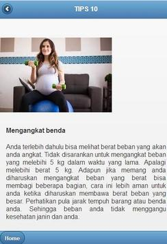 Tips Menjaga Kehamilan screenshot 2