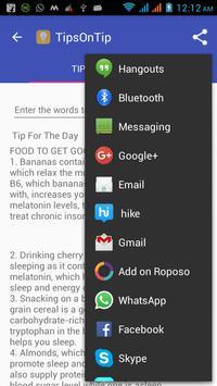TipsOnTip apk screenshot