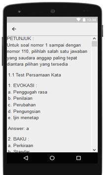 Materi Dan Soal Tes SDM PKH Terbaru apk screenshot