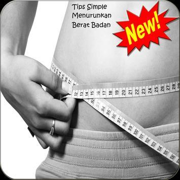 Rahasia menurunkan berat badan poster