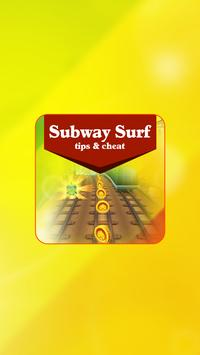 Tips Tricks for Subway Surfers poster