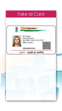 Fake ID Card Maker poster