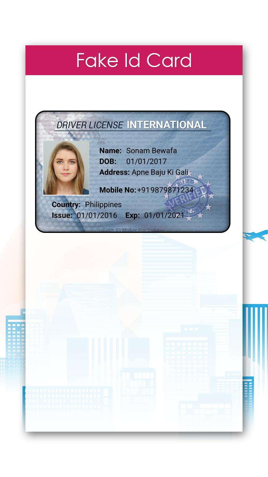 Fake ID Card Maker for Android - APK Download
