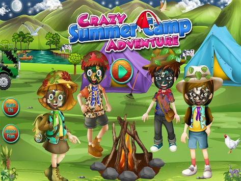 Crazy Summer Camp Adventure poster