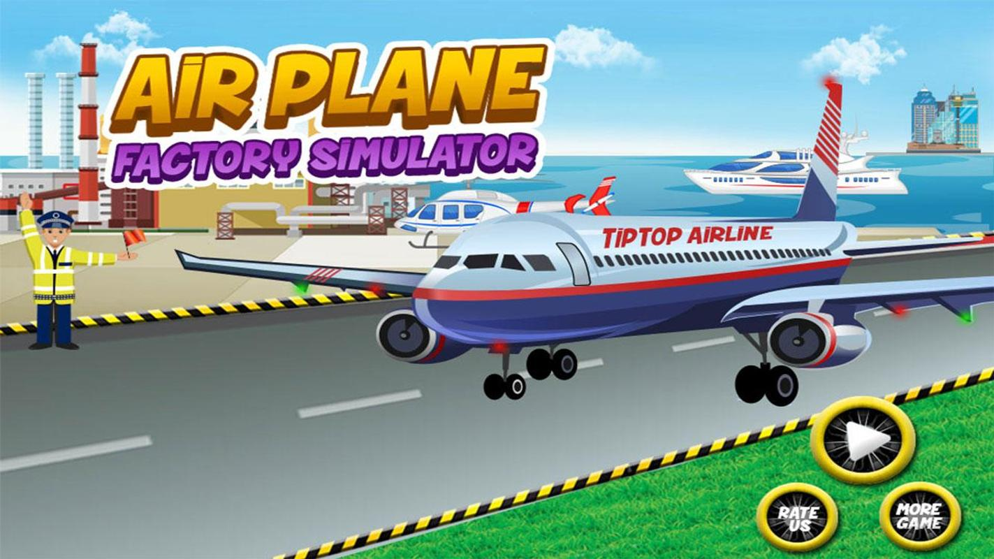 Airplane Builder Factory Games APK Download - Free Casual GAME for ...