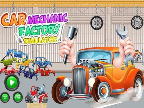 Car Mechanic Factory Simulator poster