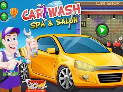 Car Wash Salon & Spa poster